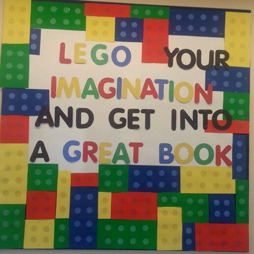 My first library bulletin board!