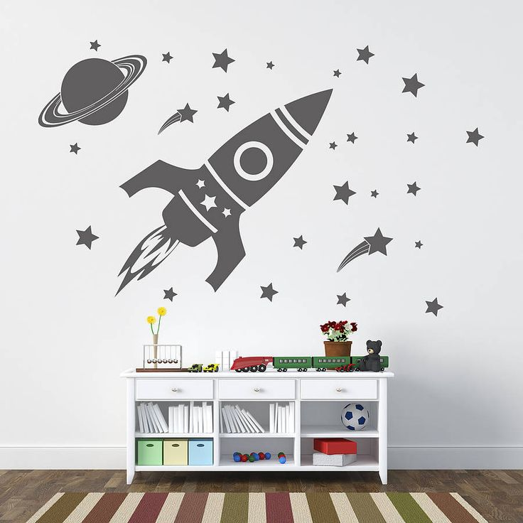 Childrenu0027s Space Setu0027 Wall Sticker Part 19