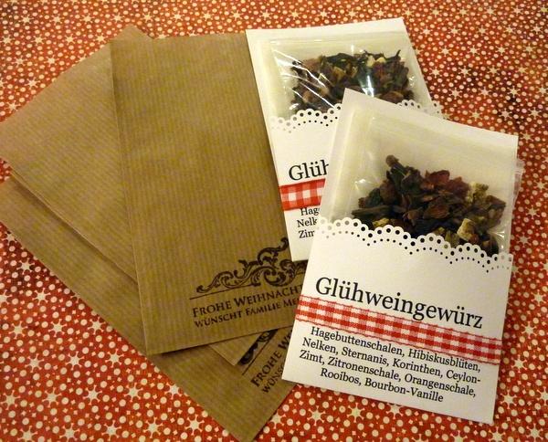 Spices to make your own Glühwein. A Glühwein-Selbstbrau-Set
