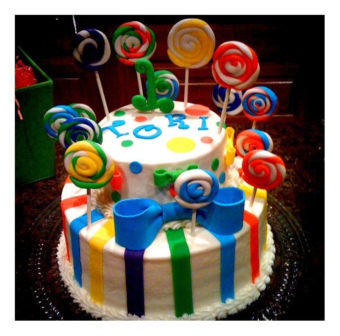 Tori's First Birthday Cake.
