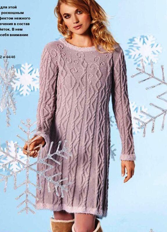 Платье зимняя сказка