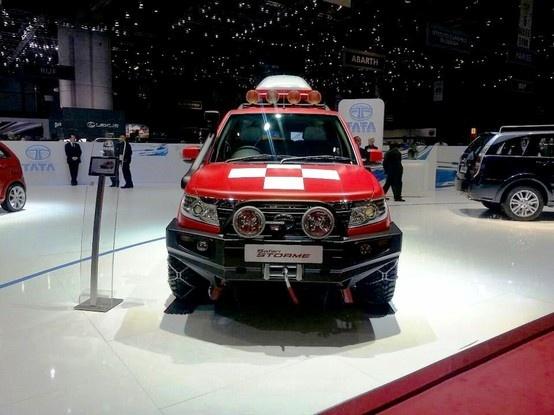 New Tata Safari Storme Mountain Rescue 2014 Concept Unveiled