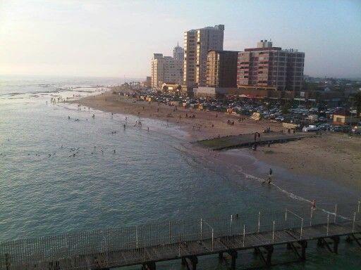 Strand Pavillion view of coast