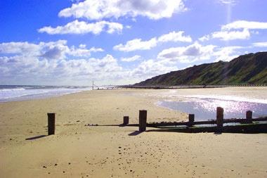 Mundesley beach, Norfolk