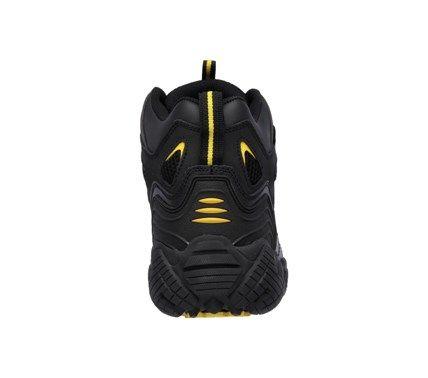 Skechers Work Men's Blais Bixford Memory Foam Waterproof Steel Toe Boots (Black/Yellow) - 14.0 M
