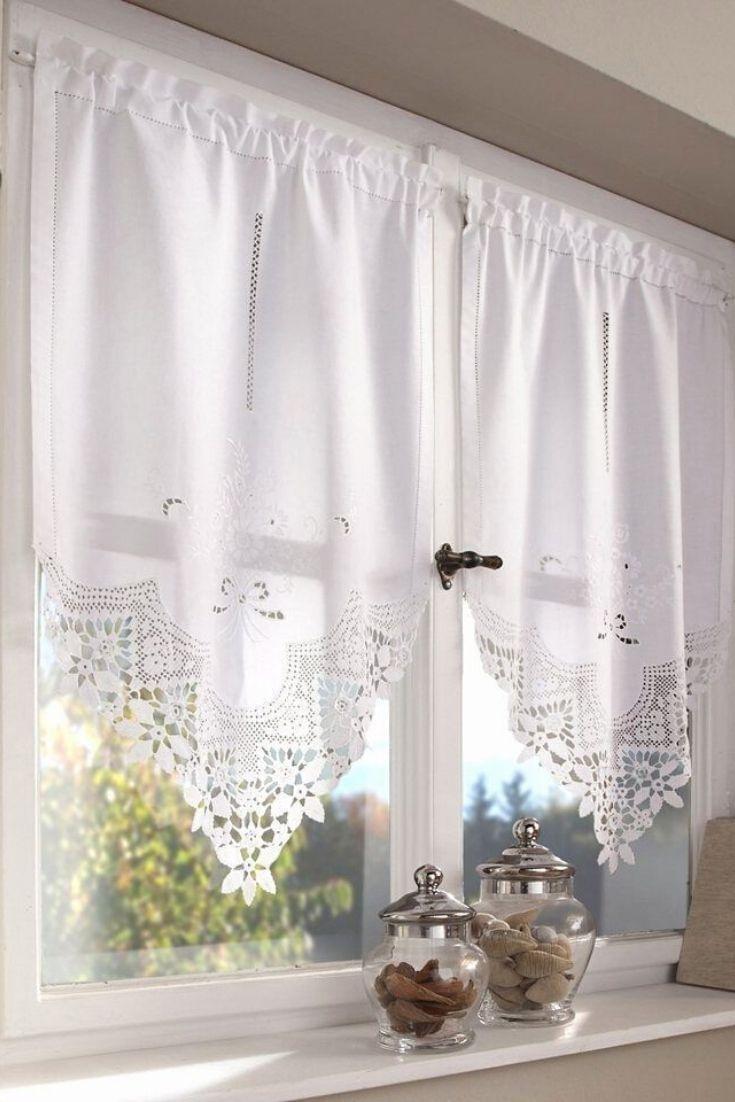 Pin On Cortinas Kitchen curtain design ideas