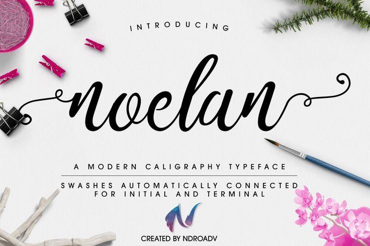Noelan Free Font Handwritten