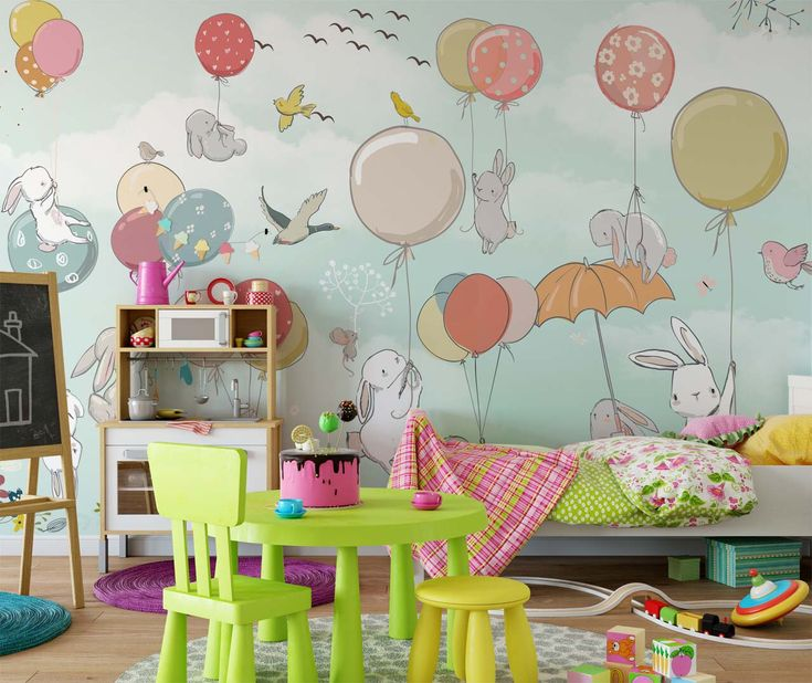 Baby Girl Wallpaper: Best 25+ Nursery Wallpaper Ideas On Pinterest