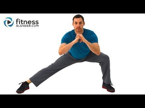 Low Impact Lower Body and Core Tabata Workout - Tabata Style Low Impact Workout (Calorie Burn 96  -224)