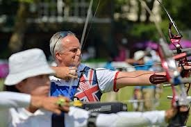 Simon Terry, archery, London 2012