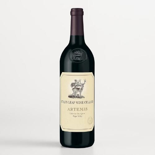 One of my favorite discoveries at WorldMarket.com: Stag's Leap Artemis Cabernet Sauvignon