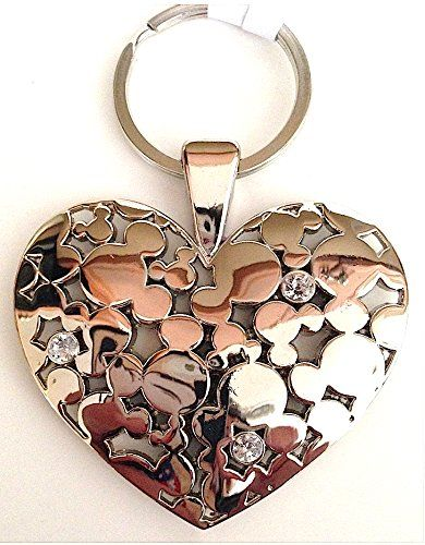 Disney Parks Mickey Mouse Icon Heart Shape Jewelry Keychain BEAUTIFUL! Disney http://www.amazon.com/dp/B00JQPFUOQ/ref=cm_sw_r_pi_dp_QRUYub0EGKC09