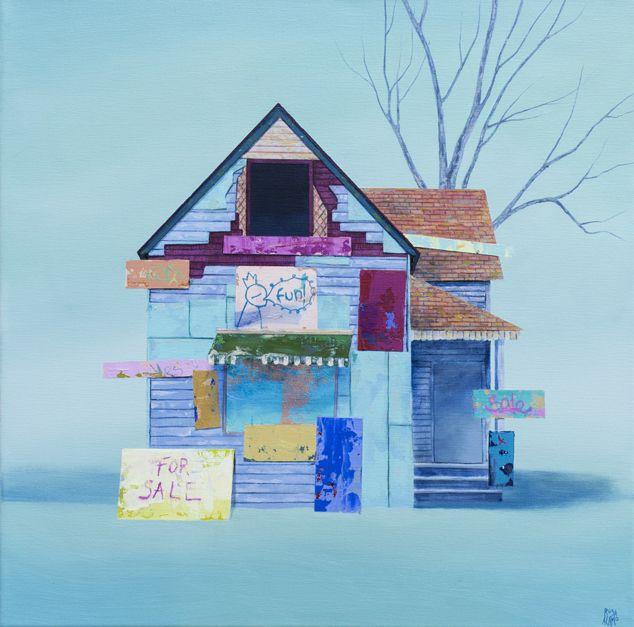 For Sale | Pintura de ROSA ALAMO | Flecha