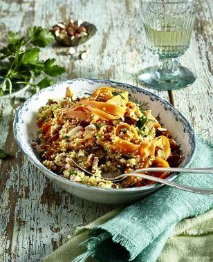 Das Rezept für Möhren-Quinoa-Salat und weitere kostenlose Rezepte auf LECKER.de