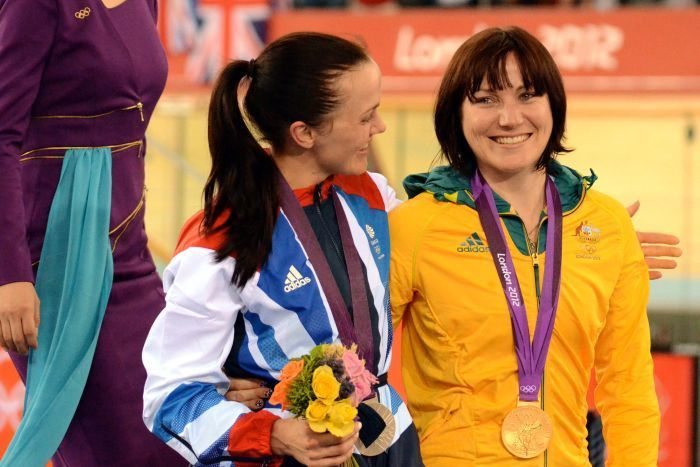 Meares said she broke into tears when Pendleton told her she was a great champion.