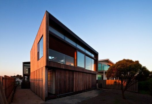 Queenscliff Material designed by John Wardle Architects © Trevor Mein