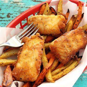 Paleo Beer-Batter Fish Fry