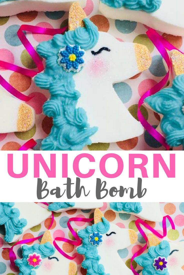 Unicorn bath bomb, unicorn gifts, unicorn favors, bath bombs