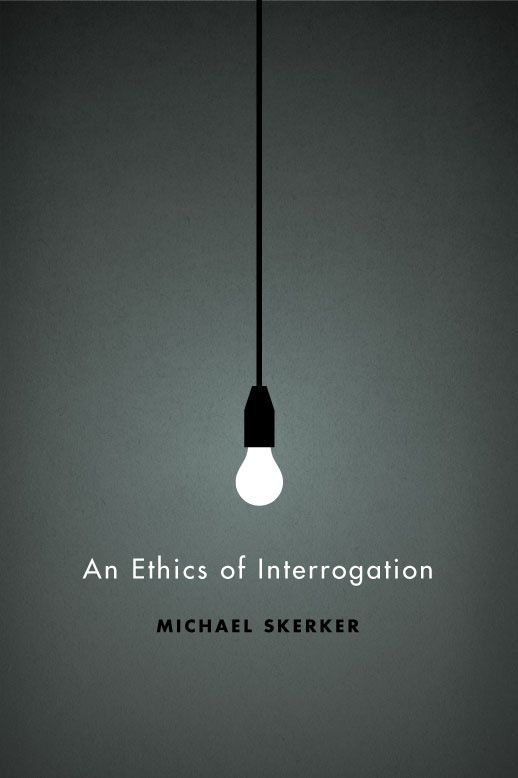 """Isaac Tobin (Chicago, USA), cover of the book: """"An ethics of interrogation"""" for the University of Chicago Press, 2010. 2011 AAUP Book, Jacket, and Journal winner."""
