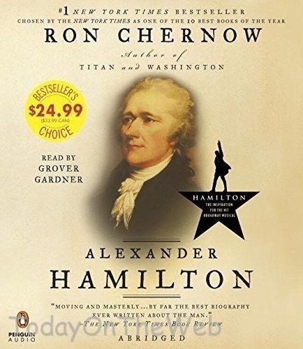 Alexander Hamilton (New Audiobook CD) by Ron Chernow