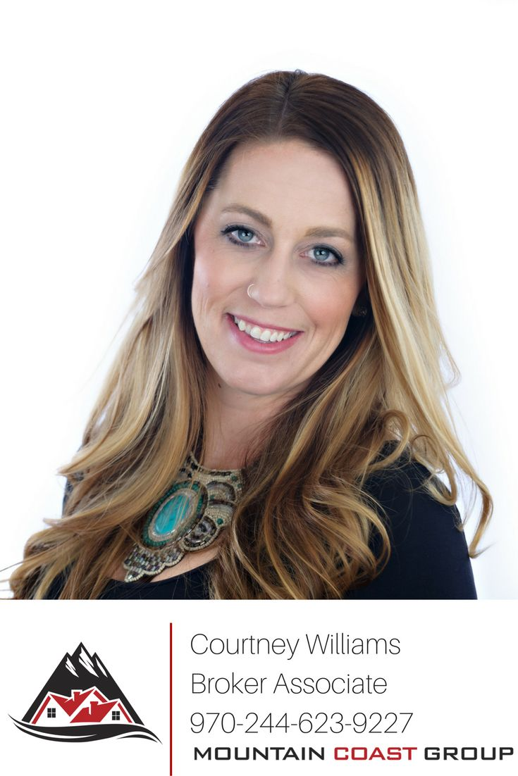 Courtney Williams is a real estate agent on the Mountain Coast Group.  She specializes in working with sellers, but enjoys helping clients buy and sell.  Call Courtney today to learn more about buying, selling, and investing in real estate!