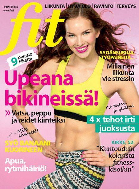Fit 5/2013 #fitlehti #kansi