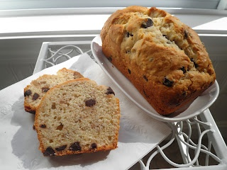 Chocolate Chip Bourbon-Spiked Banana Bread via Secrets from the Cookie ...