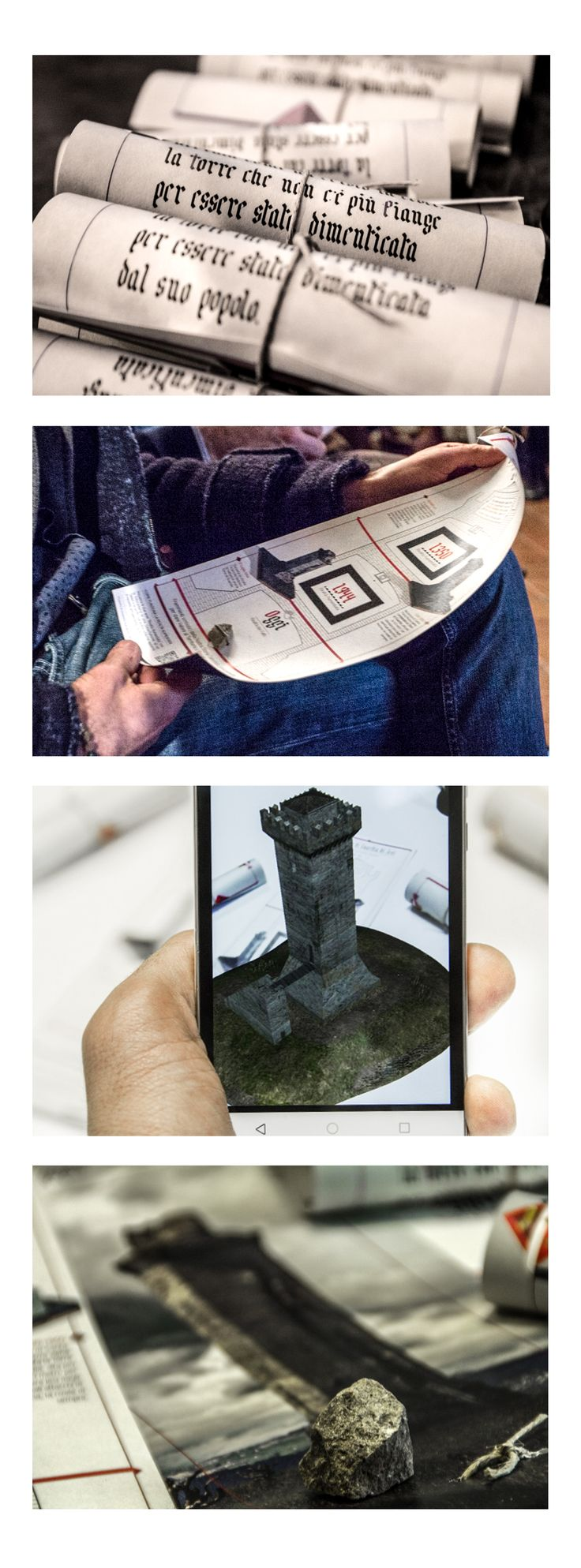 Racconto Multimediale Interattivo della torre di Guardia di Jesi