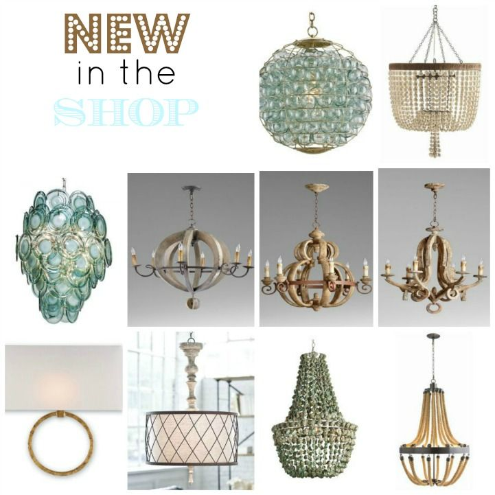 New in the shop Coastal lighting