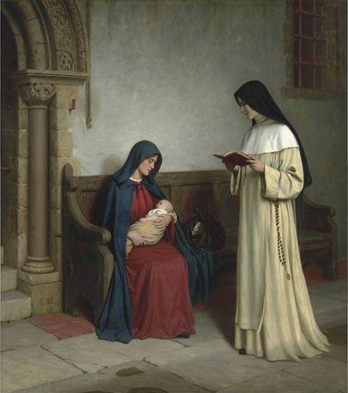 A vocação da mulher é a maternidade: material e/ou espiritual.