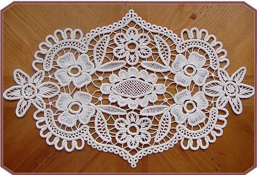 Romanian Point Lace crochet from Elena Love