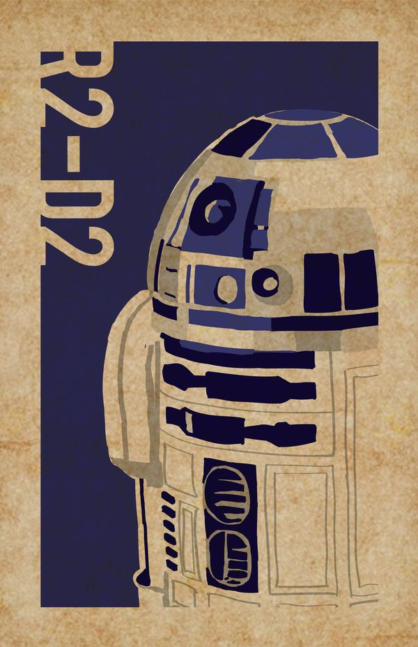 Star Wars Series by Stephanie d'Entremont, via Behance