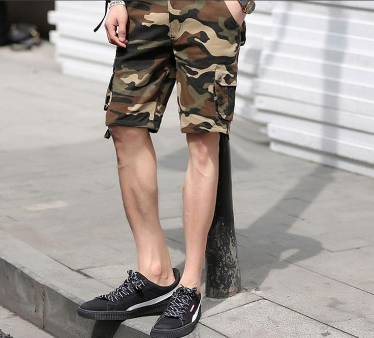 Men's Casual Military Camouflage Shorts – Zorket