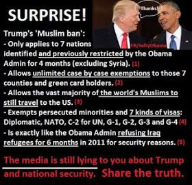 Under Islam, Christians and Jews are second-class citizens. Is that what we want in the U.S.? Support Trump's sensible vetting of those co...