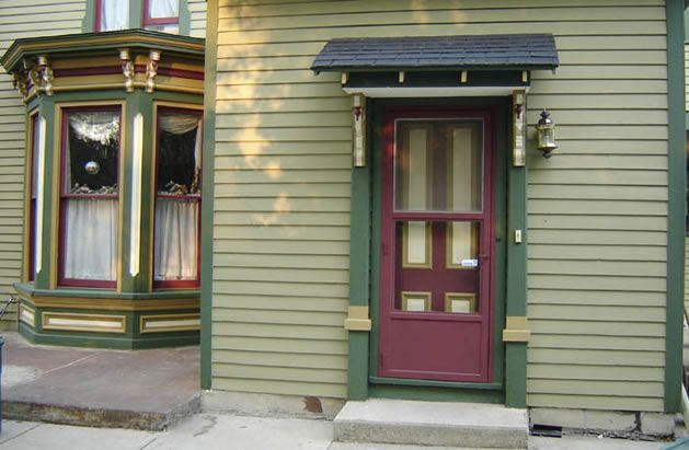 victorian painted lady porch - photo #24