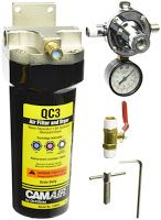 Dessiccant compressed air dryer for powder coating or painting