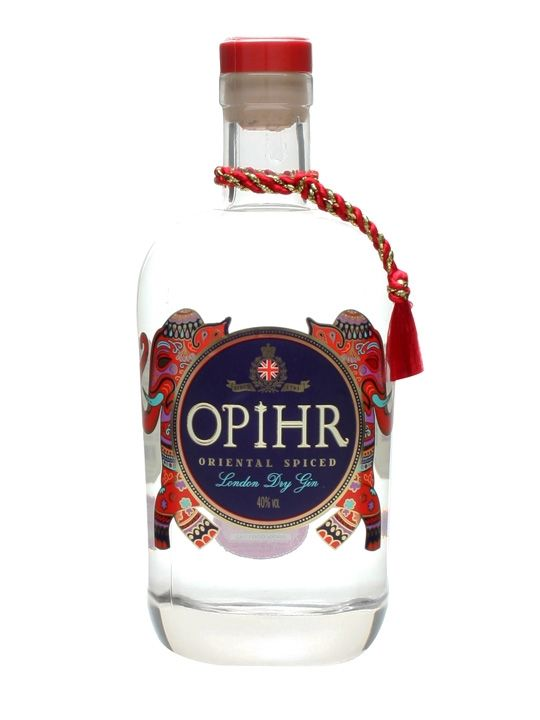 Opihr Oriental Spiced London Dry Gin : Buy Online - The Whisky Exchange