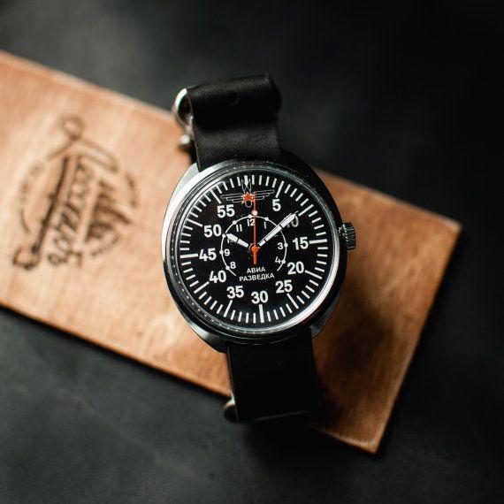 Raketa watch, soviet military watch, mechanical watch, mens watches, montre militaire watch, montre vintage