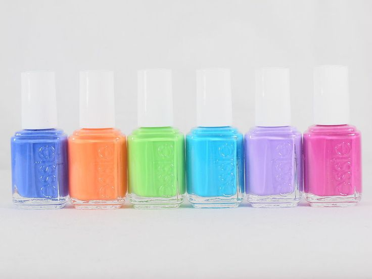 Essie Nail Polish NEON 2014 Collection TOO TABOO 6 Bottles 3025-3030