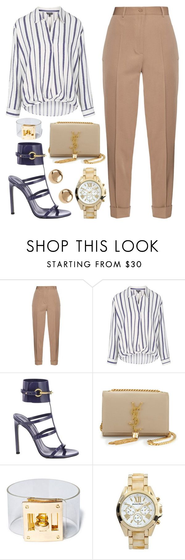 """""""Biddness"""" by kimeechanga ❤ liked on Polyvore featuring Bottega Veneta, Topshop, Gucci, Yves Saint Laurent, Suzywan DELUXE, Journee Collection and Jules Smith"""
