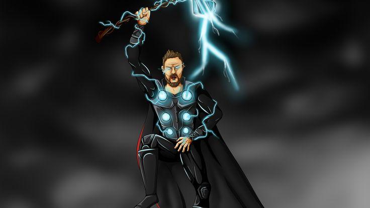 Thor Art Lighting 4k thor wallpapers, superheroes wallpapers, hd-wallpapers, dig…