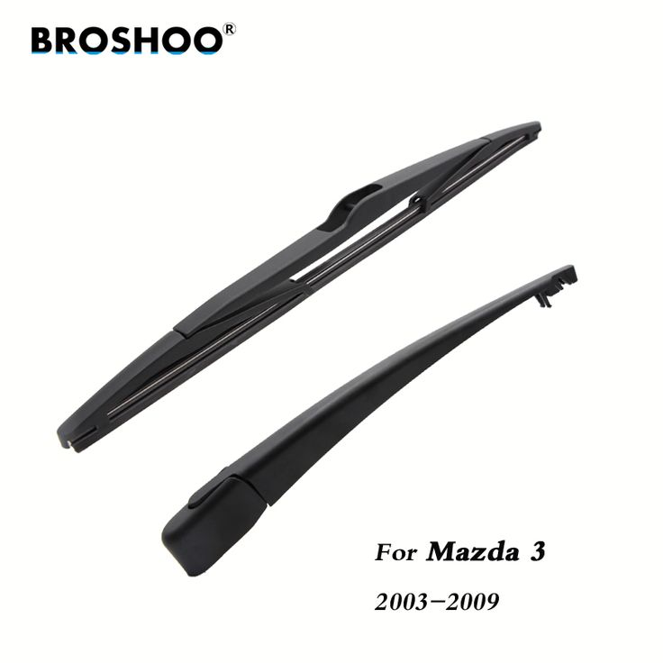 BROSHOO Car Rear Wiper Blades Back Windscreen Wiper Arm For Mazda 3 Hatchback (2003-2009) 355mm,Windshield Auto Styling. Yesterday's price: US $5.93 (4.89 EUR). Today's price: US $5.93 (4.89 EUR). Discount: 14%.