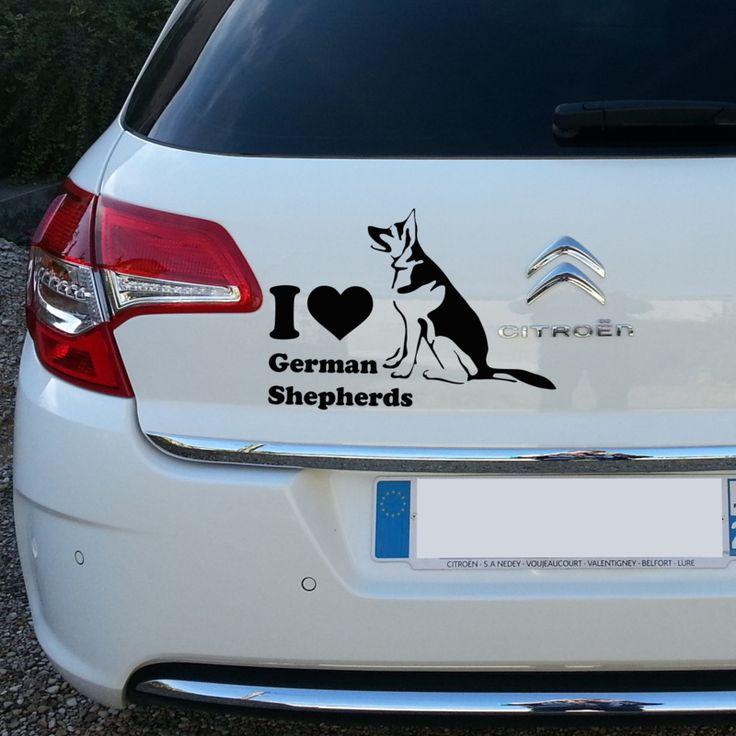 I love german shepherds | dieren | Uniquewinkel
