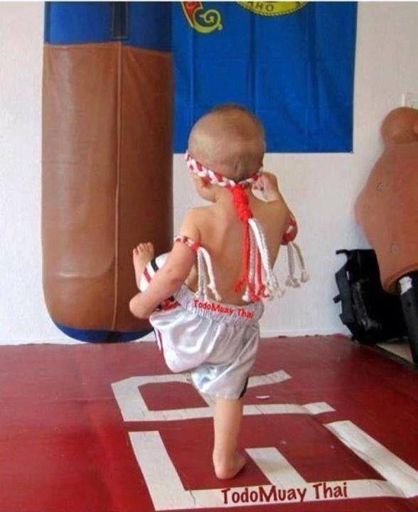 Дети и тайский бокс