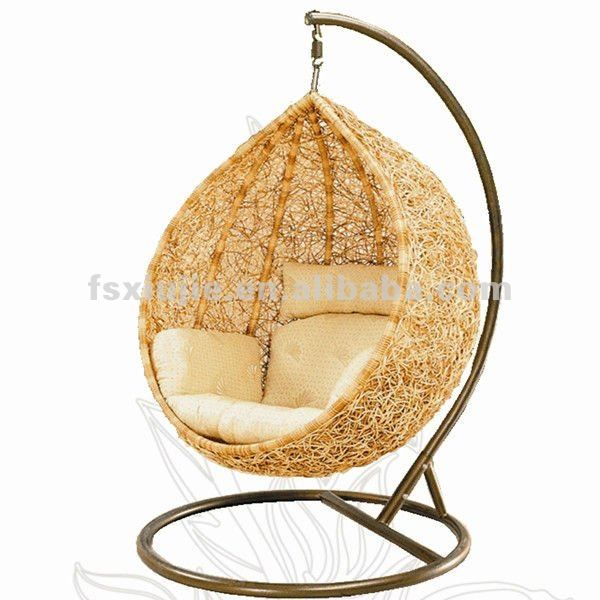 17 best images about egg chair on pinterest swing chairs for Diy hanging egg chair