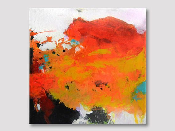 Small Abstract Acrylic Paintings