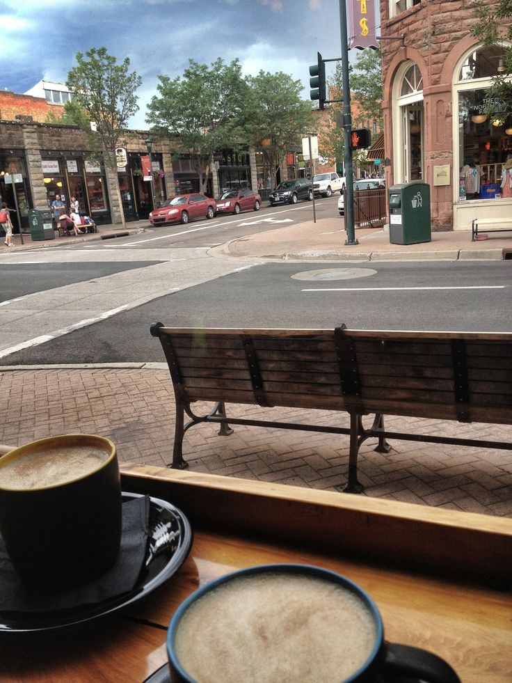 amazing cup of coffee while blogging in Flagstaff, Arizona