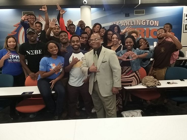 With the Univ. of Texas at Arlington NPHC, March 2015