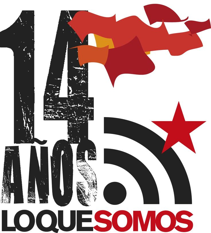 Aniversario, 14 años, Loquesomos, LQSomos, LQS, Libertad de Comunicación, Libertad de Expresión, Comunicación Libre, Cultura Libre