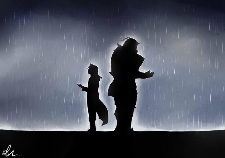 Rain ~   Rain, Elric brothers, Fullmetal alchemist
